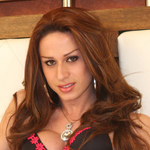 Nicolly.  Nicolly from Sao Paulo was once Miss Gay, but now she\'s fully transformed and is hot and horny.