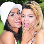 Kawanna di prado 38 giselly lemos  kawanna 38 giselly can t wait to get each others clothes off and have sex each other. Kawanna & Giselly can't wait to get each others clothes off and make love each other