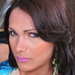 Leticia freitas. Busty Latin shemale lovely