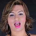 Rafaela manciny. Brazilian tranny squirts her load